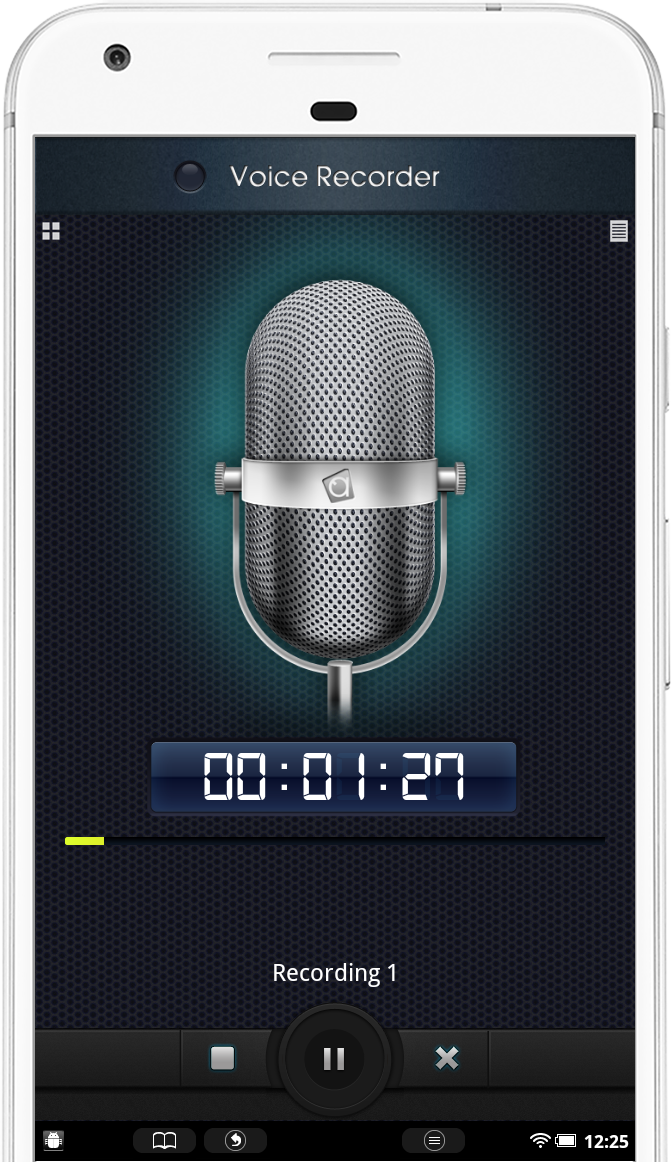 Essential Voice Recorder for Android