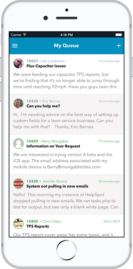HelpSpot for iOS and Android
