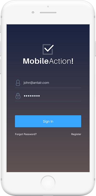 MobileAction for iOS
