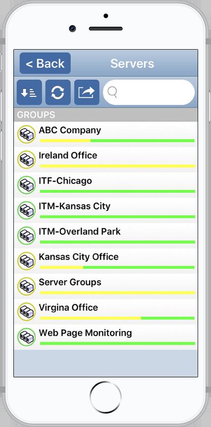 PA Server Monitor